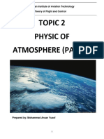 Reference Note - Topic 2 Physic of Atmosphere (Part 1)