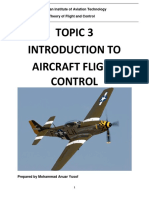 Reference Note - Topic 3 Intro. to Aircraft Flight Control (r1)