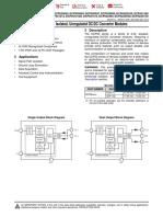 Dcp02x Isolated Unregulated DC-DC Converter Modules 2 Watt