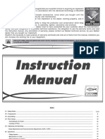 Instruction Manual AAF - AAL ( Inglês )