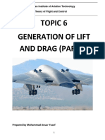 Reference Note - Topic 6 Generation of Lift and Drag (Part 1) r1