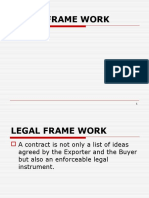 Ch 4- Legal Frame Work-- CLASS