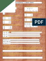 Guía de Reforzamiento Matematica 5º- 26-8-2011