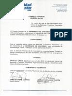 Acuerdo 02 Valores Matriculas 2016