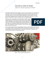Trobological Audit on Gears