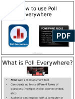 how to use poll everywhere