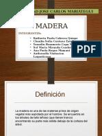 Madera Materiales