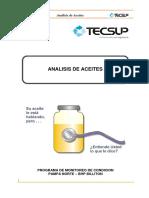 Análisis de Aceite I
