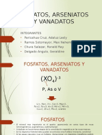 Fosfatos, Arseniatos y Vanadatos 1
