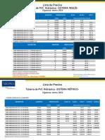 PVC Hidráulico y Accesorios