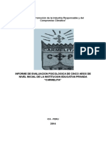 Informe de Evaluaciones Anexo 04