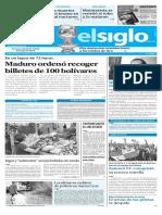 Edición Impresa Elsiglo 12-12-2016
