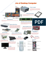 Main Parts of Desktop Computer -Tarp