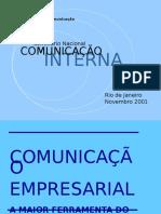 Seminário Nacional COMUNICAÇÃO INTERNA