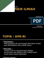 ALUR PIKIR ILMIAH-DPR RI.pptx
