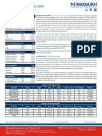 Report on Stock Trading Report by Mansukh Investment & Trading Solutions 22/06/2010