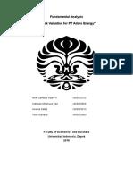 Fundamental Analysis PT Adaro Energy.docx