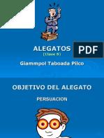 8 - Alegatos