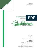 GigaKitchen Business Plan