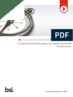 La Importancia Del Liderazgo en Las Nuevas Normas ISO_Dic_2014