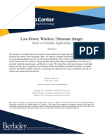 Low Power Ultrasound Report