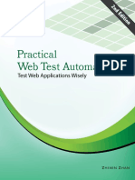 Practical Web Test Automation Sample