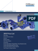 VFA Price-list FittingsValves 2015