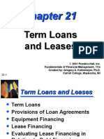 Ch21 (Term Loan & Lease)