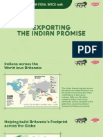 Exporting the Indian Promise