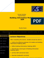 Sample Lecture Builiding Information Modeling v2