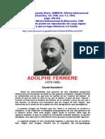 Adolfo Ferriere (1)