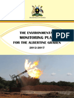 The Environmental Monitoring Plan for the Albertine Graben 2012-2017