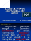 Med Genetique Regulation Expression Genes