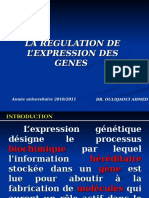 Med Genetique Regulation Expression Genes