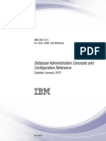 IBM DB2 10.5 for Linux, UNIX, And Windows - Database Administration Concepts and Configuration Reference