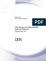 IBM DB2 10.5 for Linux, UNIX, And Windows - Data Recovery and High Availability Guide and Reference