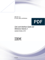 IBM DB2 10.5 for Linux, UNIX, And Windows - Call Level Interface Guide and Reference Volume 2
