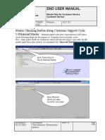 Master Data for Customer Service.doc