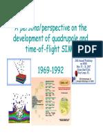 Nick Winograd History of Static SIMS