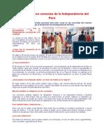 Secretos Que No Conocías de La Independencia Del Perú