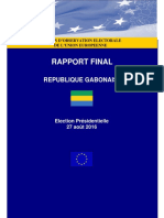 Rapport Moe Gabon