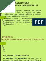 Unidad i Regresion Lineal Simple y Multiple