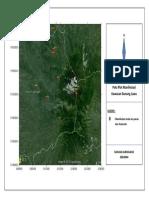 Peta Manifestasi Gunung Lawu