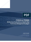IT 2010 vs. IT 2020 - Will Business Reality Drive or Derail a New Performance Management Paradigm