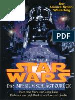 (Star Wars-Krieg Der Sterne Episode v 5) Donald F. Glut-Star Wars-Krieg Der Sterne. Episode v. Das Imperium Schlägt Zurück-Wilhelm Goldmann Verlag (1980)