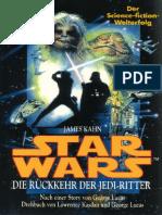 (Star Wars-Krieg Der Sterne Episode VI Volume 6) James Kahn-Star Wars-Krieg Der Sterne. Episode VI. Die Rückkehr Der Jedi-Ritter-Wilhelm Goldmann Verlag (1983)