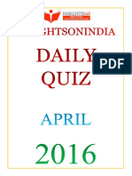 Daily Quiz Apr 2016