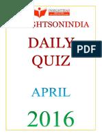 Daily Quiz Apr 2016