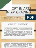 Report in Arts