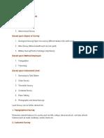 Survey Unit 1 Overview